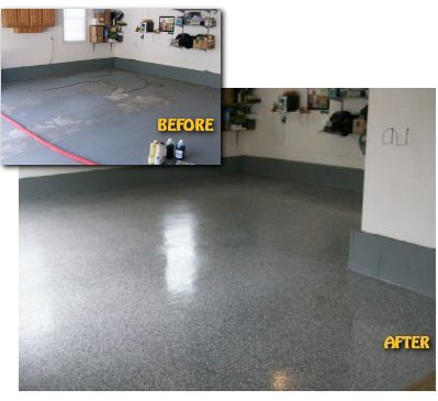 & Jet Electro Finishing - Decorative Epoxy Flooring - Garage and Basement